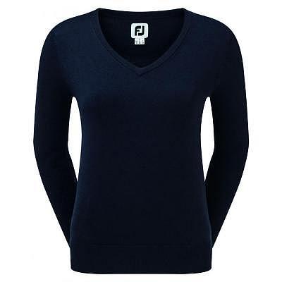 FootJoy W Wool Blend V-Neck Pullover