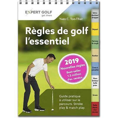 Bücher Règles de golf l'essentiel vala..
