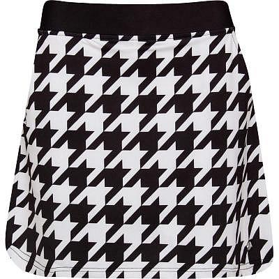 girls golf W HOUNDSTOOTH Skort