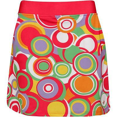 girls golf W CIRCLES Skort