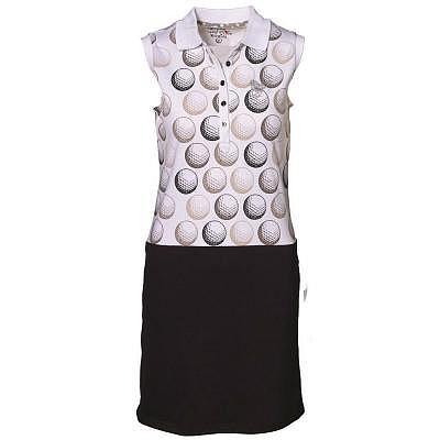 girls golf W dancing golf balls Polo D..