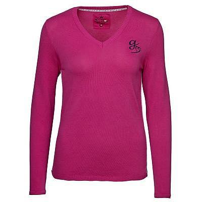 girls golf W my stripes up Sweater