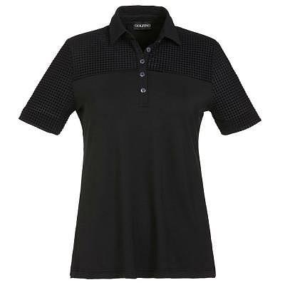 Golfino W Loose fit short sleeve polo
