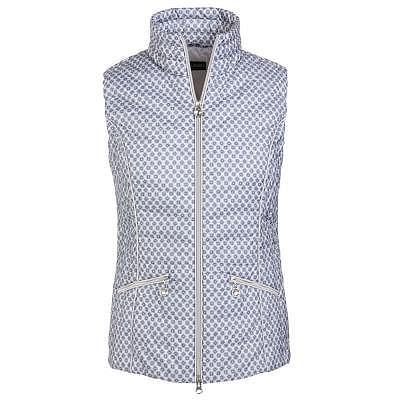 Golfino W Printed quilted waistcoat