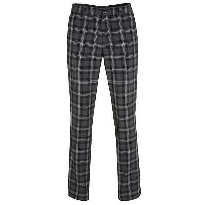 Golfino M Checked stretch trouser
