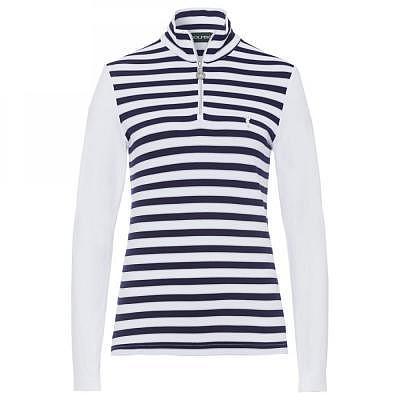 Golfino W Dry Comfort Striped Troyer