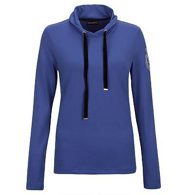 Golfino W ST Blue Troyer Shawl Collar