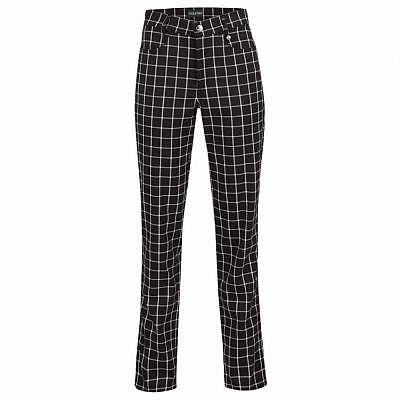 Golfino W ST Blue Checked Pant