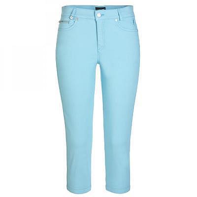 Golfino W Garment Dyed Stretch Capri (..