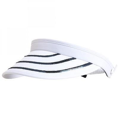Golfino W Sequins Cable Visor