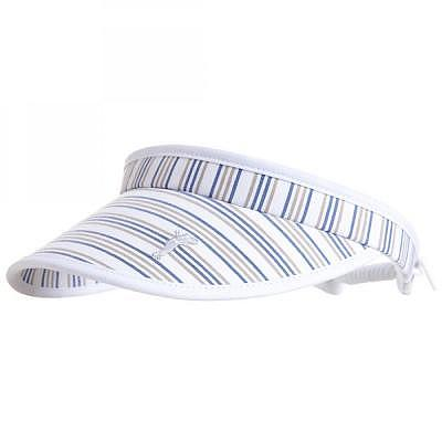 Golfino W Striped Cable Visor