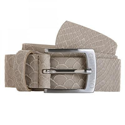 Golfino W Leather Snake Belt with Rive..