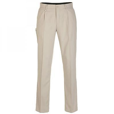 Golfino M Pleated Microfibre Trousers ..