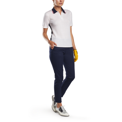G-Fore W TWO TONE Sweater Polo SS