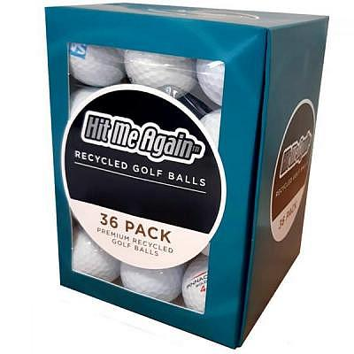Hit Me Again Mix Box Golfbälle 36 Ball Pack