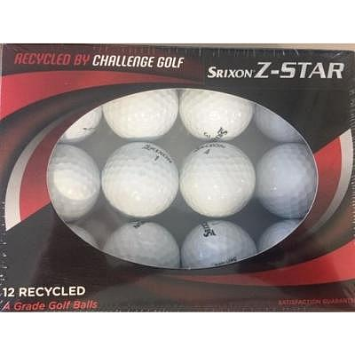 Srixon Z-Star Hit Me Again Ball 12er