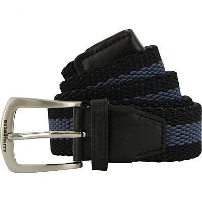 J.Lindeberg M HADES Elastic Stripe Belt