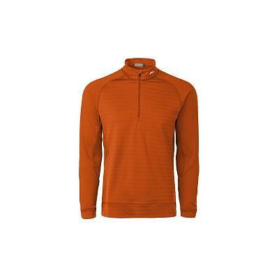 KJUS M Keano Stripe Half-Zip Pullover