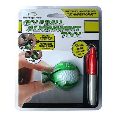 Softspikes Golfball Alignment Tool