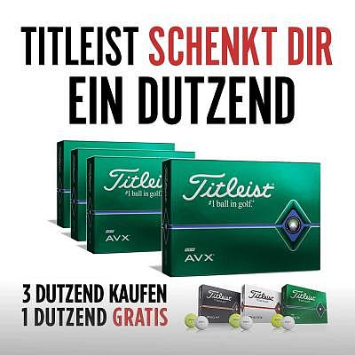 Titleist AVX - 3+1 Dz - with free impr..