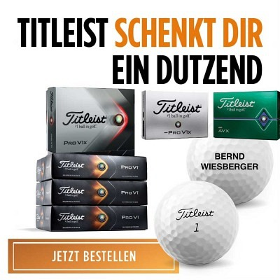 Titleist Pro V1x 3+1 dz with imprint