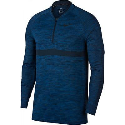 Nike M Dry Golf Top 1/2 Zip LS