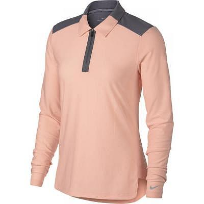 Nike W Zonal Cooling Polo LS