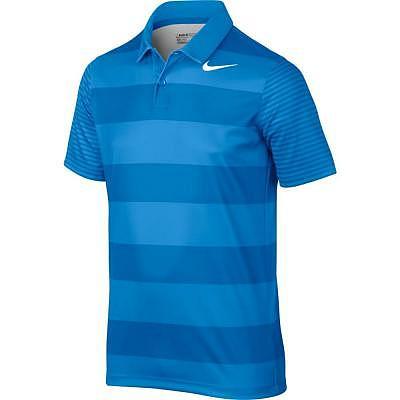 Nike K Boy's Nike Bold Stripe Polo XVII