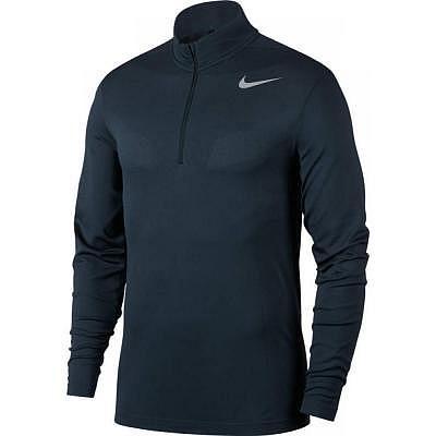 Nike M Dri-Fit Knit 1/2 Zip armory nav..
