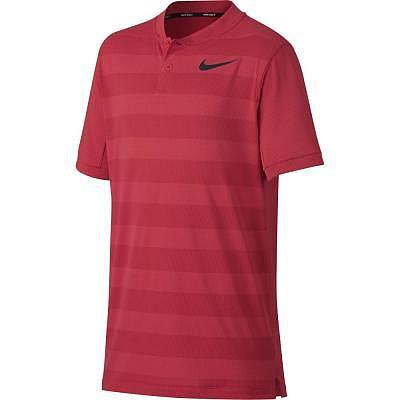 Nike Y Zonal Cooling Polo SS Stripe Bo..