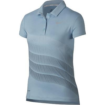 Nike Y Dry Polo SS Print Girls