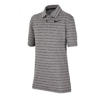 Nike K Boys Dry Heather Stripe Polo
