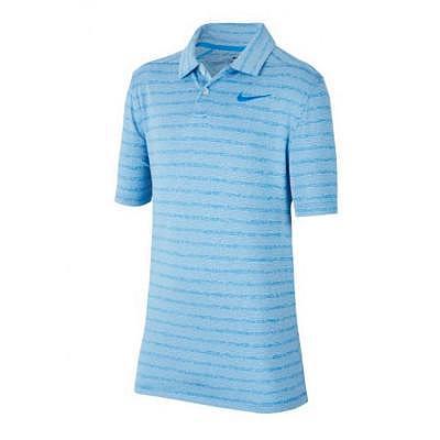 Nike K Boys Dry Heather Stripe Polo