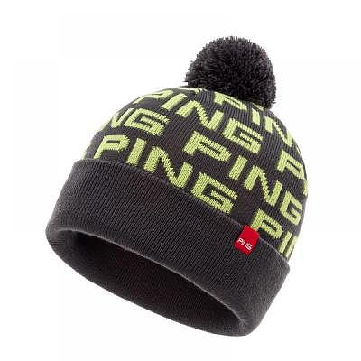 PING Fashion Logo Bobble Knit Brights