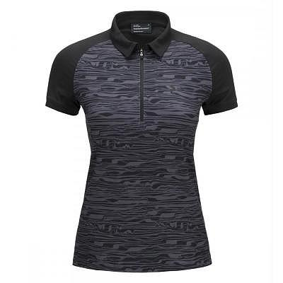 Peak Performance W G Print Zip Polo ku..