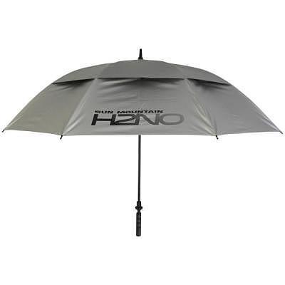 """Sun Mountain H2NO Umbrella 68"""" UV Silver"""