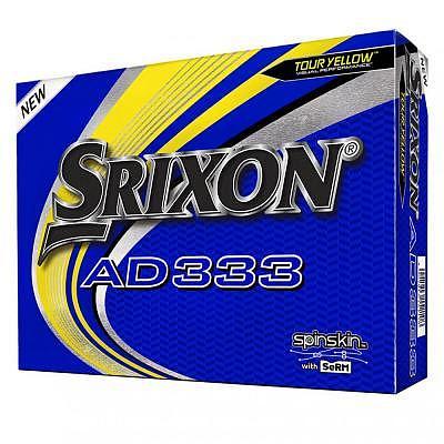 Srixon AD333 Tour Yellow