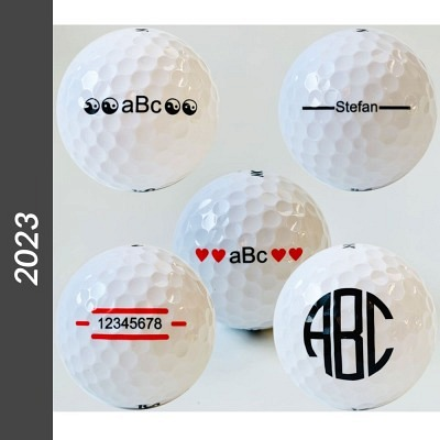 Srixon Personalized balls with motif