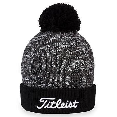 Titleist Pom Pom Golf Beanie black/white