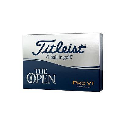 Titleist Pro V1 The Open