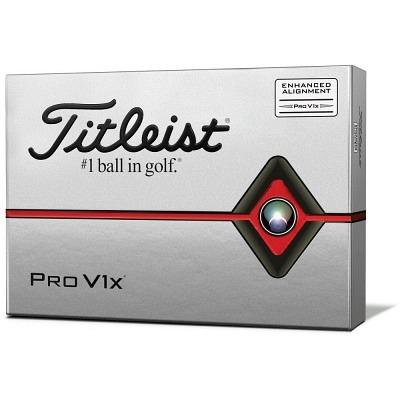 Titleist Pro V1x white aim