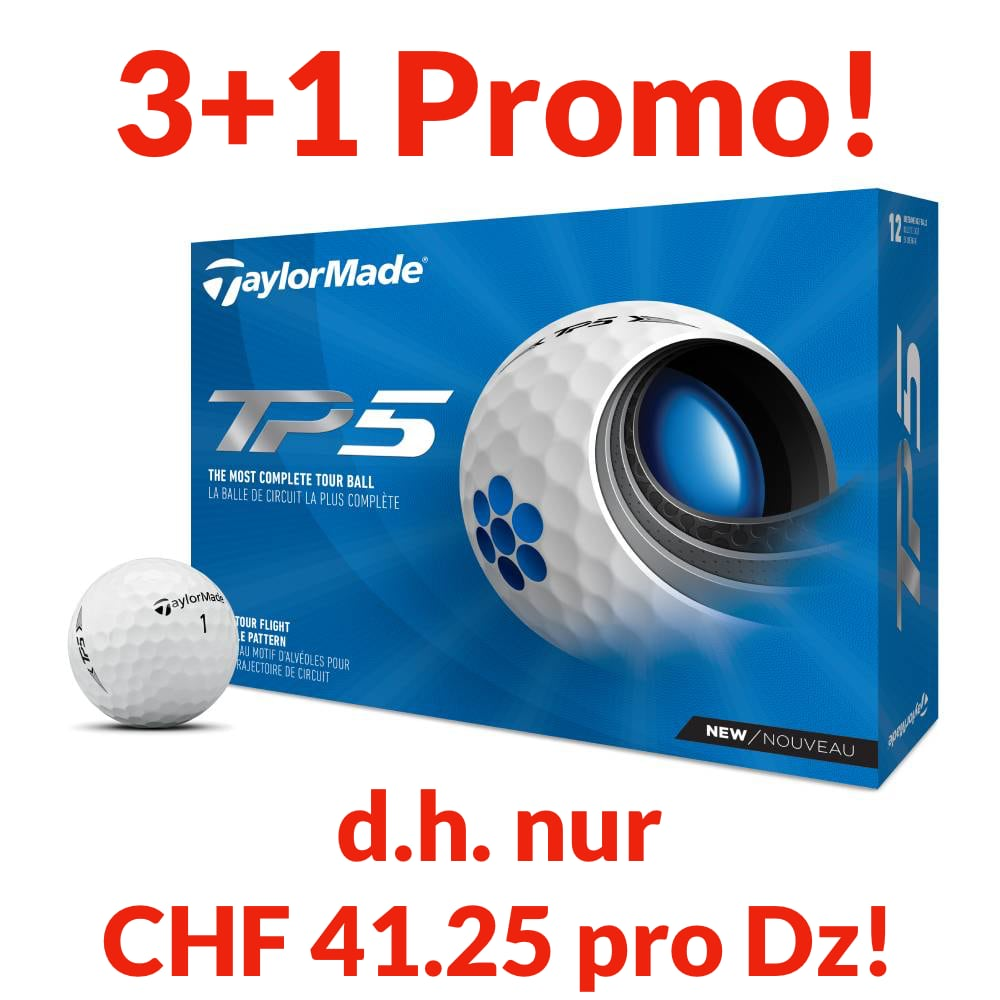 TaylorMade TP5 Promo,  4 Dtz. personalisiert