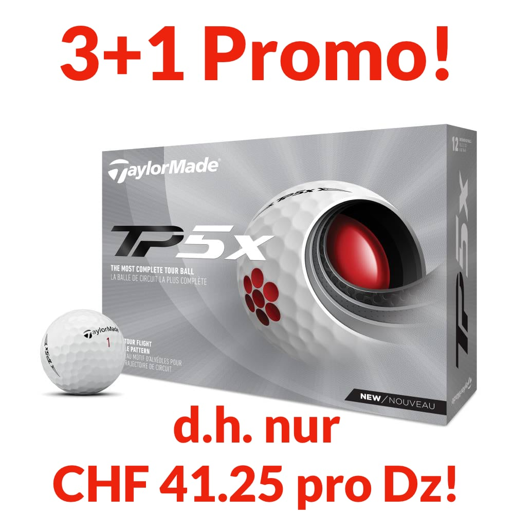 TaylorMade TP5x Promo, 4 Dtz. personalisiert