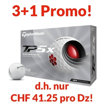 TaylorMade TP5x Promo, 4 Dtz. personal..