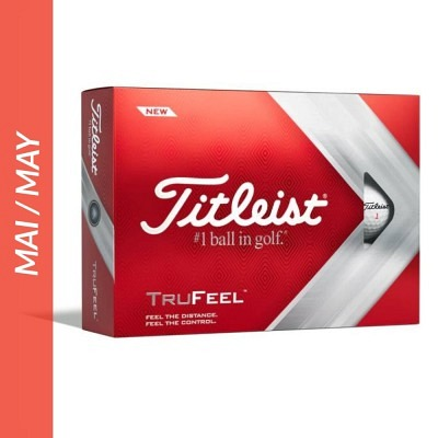 Titleist TruFeel, personalized balls