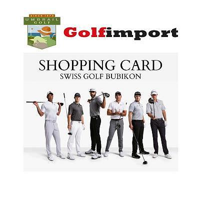 Umbrail Golf Import Einkaufskarte Swis..