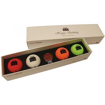Volvik Happy Birthday 4-Ball Pack Spec..