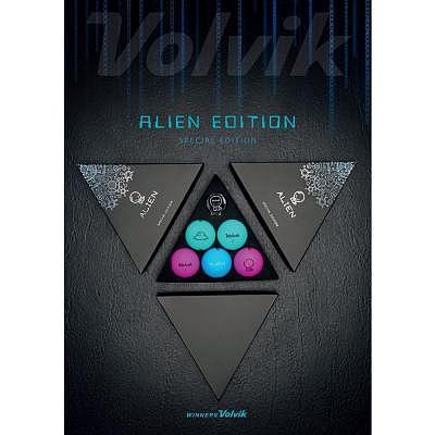 Volvik Alien Pack (5 Balls, Marker)