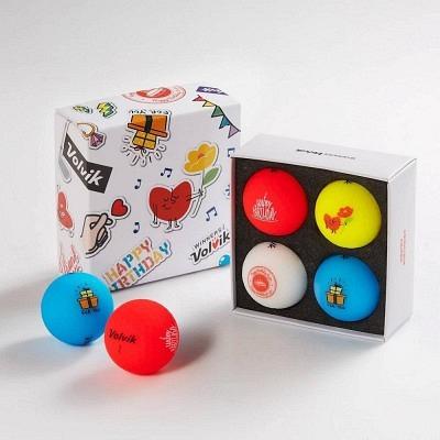 Volvik Happy Birthday 4-Ball Pack 202