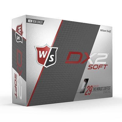 Wilson Staff Dx2 Soft Logobälle